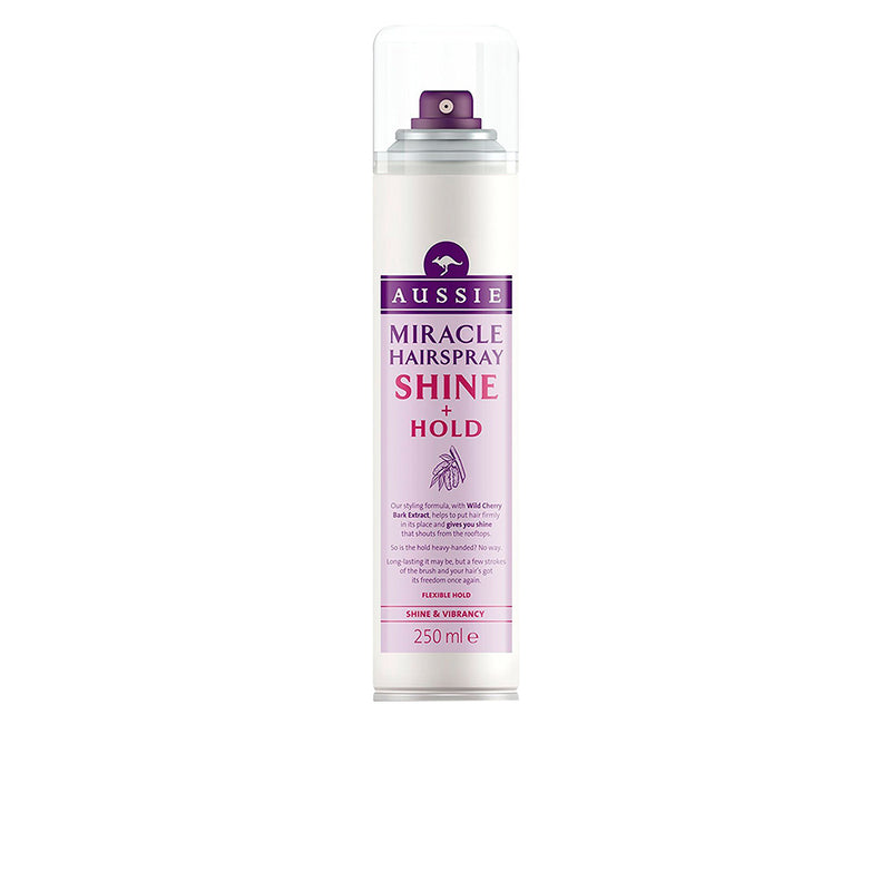Aussie Shine And Hold Hairspray 250ml