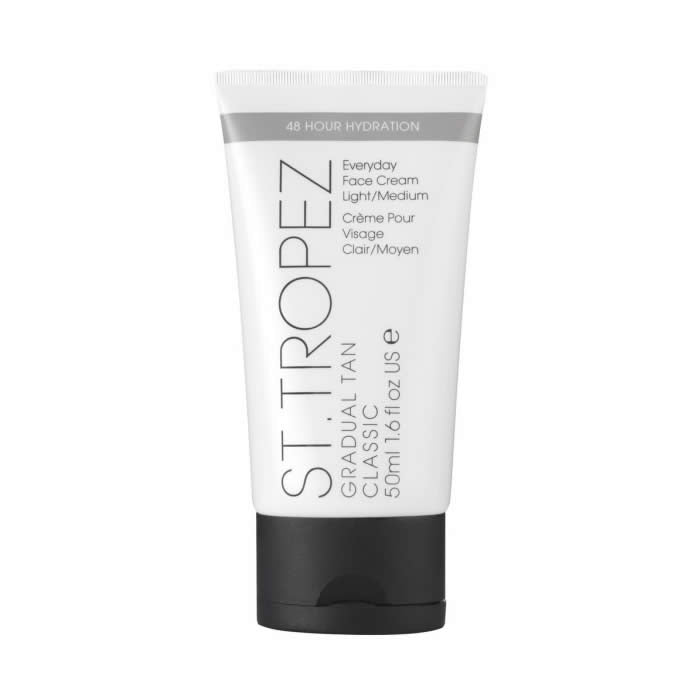 St Tropez Gradual Tan Classic Face Cream Medium Dark 50ml