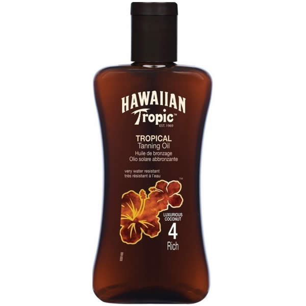 Hawaiian Tropic Tropical Tanning Oil Rich 200ml