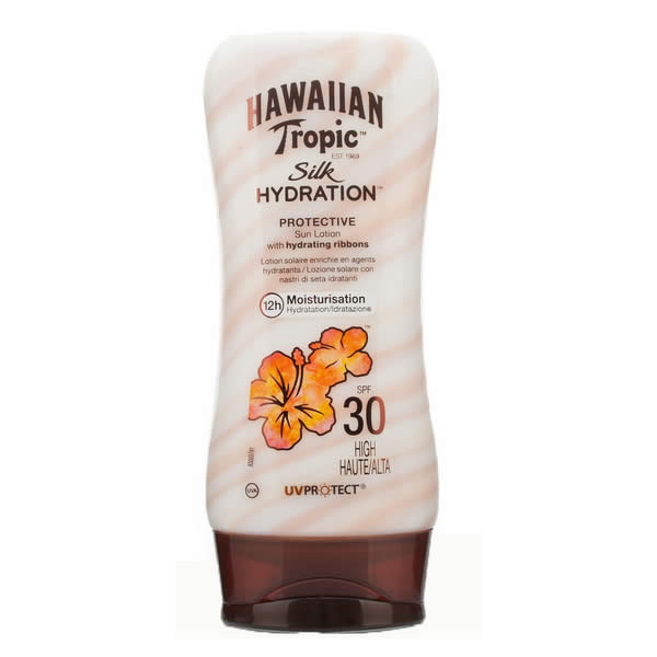 Hawaiian Tropic Silk Hydration Protective Sun Lotion Spf30 High 180ml