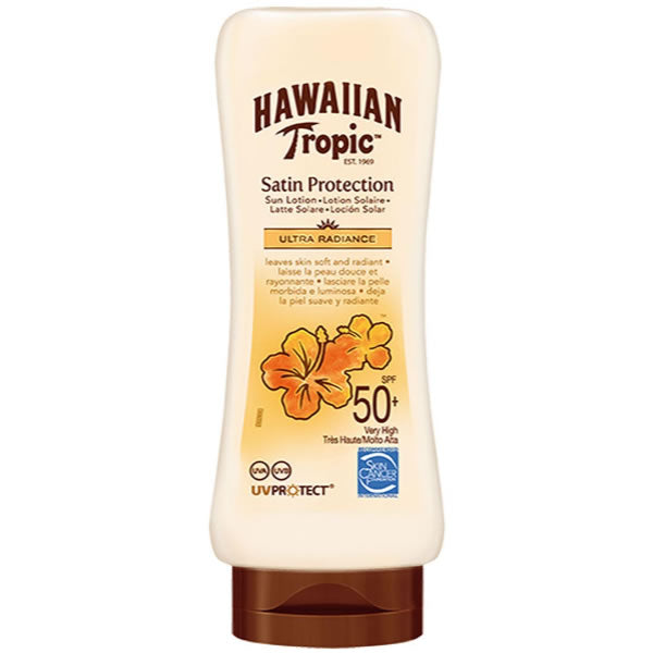 Hawaiian Tropic Satin Protection Ultra Radiance Sun Lotion Spf50 180ml