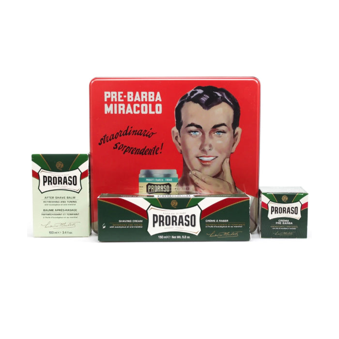 Proraso Vintage Gino Set 4 Pieces 2018