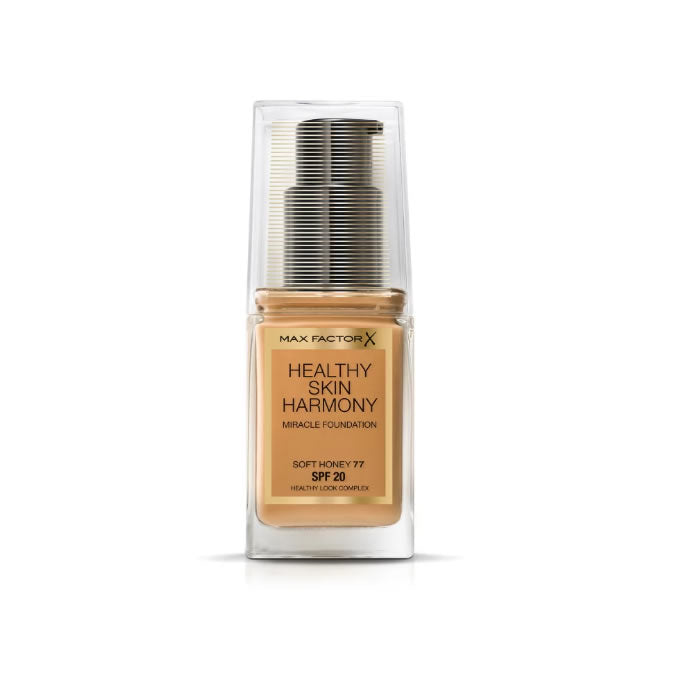 Healthy Skin Harmony Foundation Spf20 77 Soft Honey