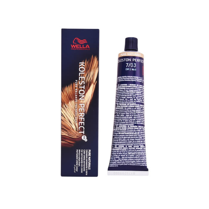 Wella Koleston Perfect Me+ 7/03 Pure Naturals 60ml