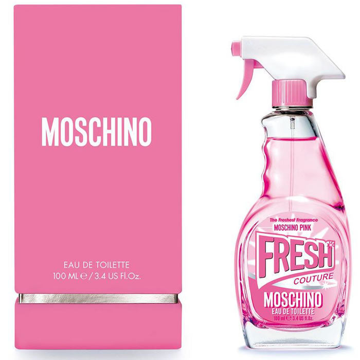 Moschino Fresh Couture Pink Eau De Toilette Spray 50ml
