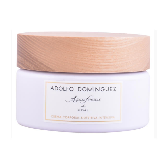 Adolfo Dominguez Agua Fresca De Rosas Nourishing Body Cream 300ml