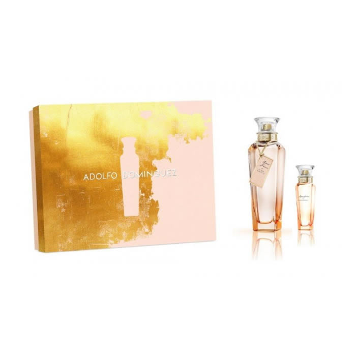 Adolfo Dominguez Agua De Rosas Eau De Toilette Spray 120ml GiftSet