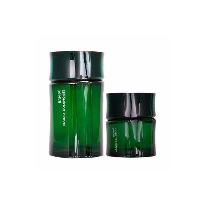 Adolfo Dominguez Bambu Eau De Toilette Spray 120ml Set 2 Pieces