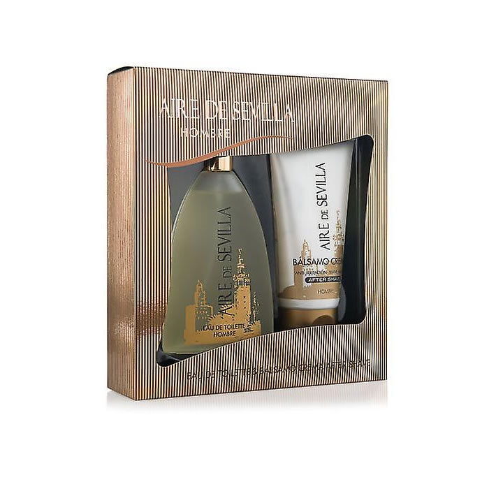 Aire De Sevilla Hombre Eau De Toilette Spray 150ml Set 2 Pieces