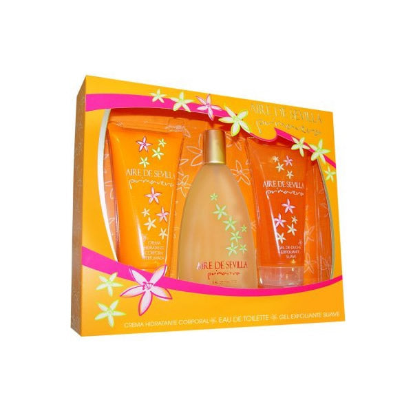 Aire De Sevilla Primavera Eau De Toilette Spray 150ml Set 3 Pieces