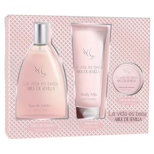 Aire De Sevilla Bella Eau De Toilette Spray 150ml Set 3 Pieces