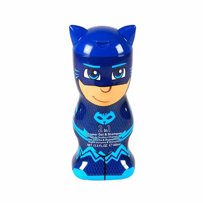 Cartoon Pj Masks Shower Gel And Shampoo 400ml