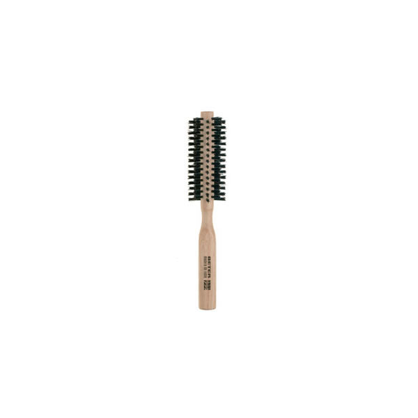 Beter Round Brush Mixed Bristles Oak Wood  40mm