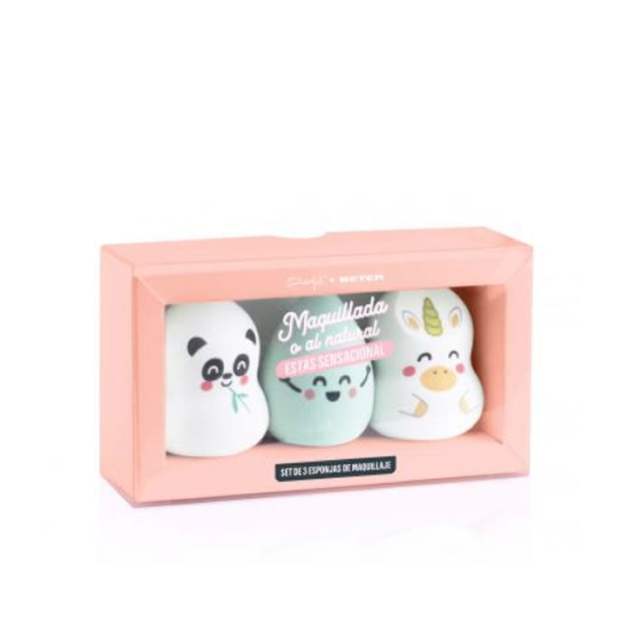 Beter Mr Wonderful Makeup Sponge Set 3 Pieces 2020