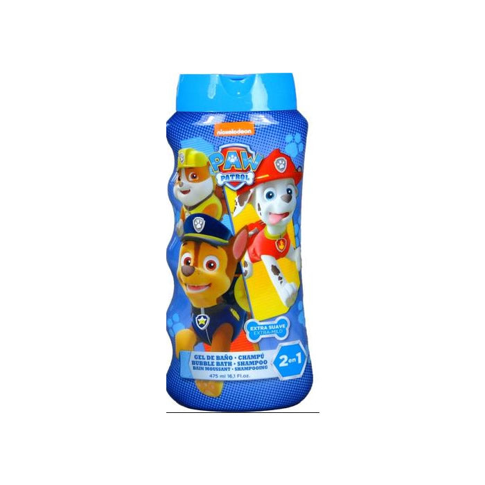 Cartoon Paw Patrol Shower Gel & Shampoo 475ml