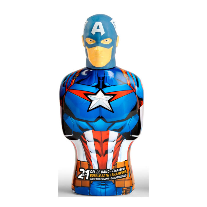 Marvel Captain America Shower Gel & Shampoo 475ml