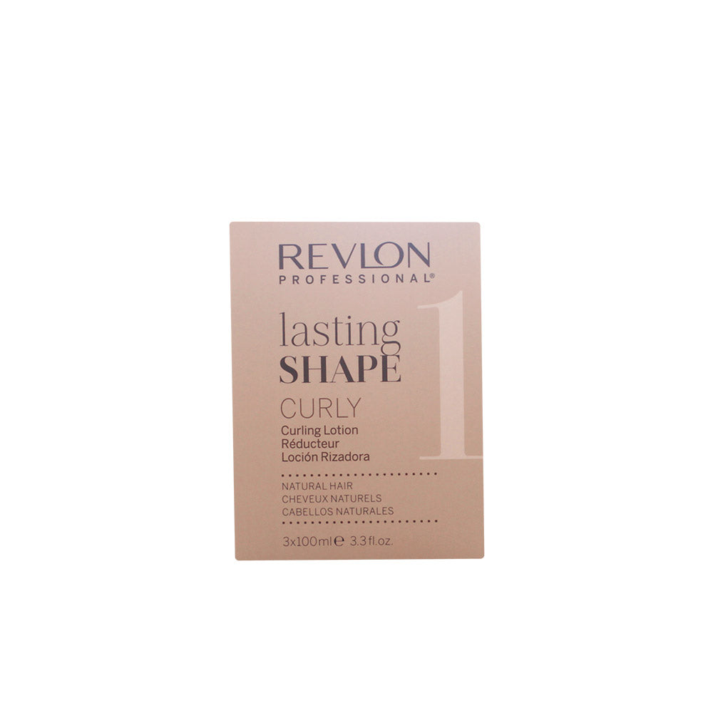 Revlon Lasting Shape Curly Lotion 3 X 100ml
