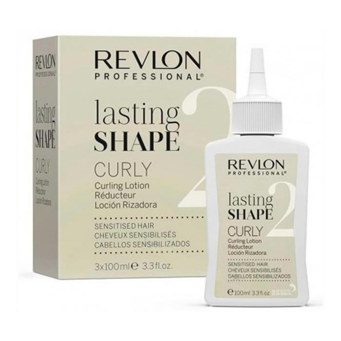 Revlon Lasting Shape 2 Curly Lotion 3 X 100ml