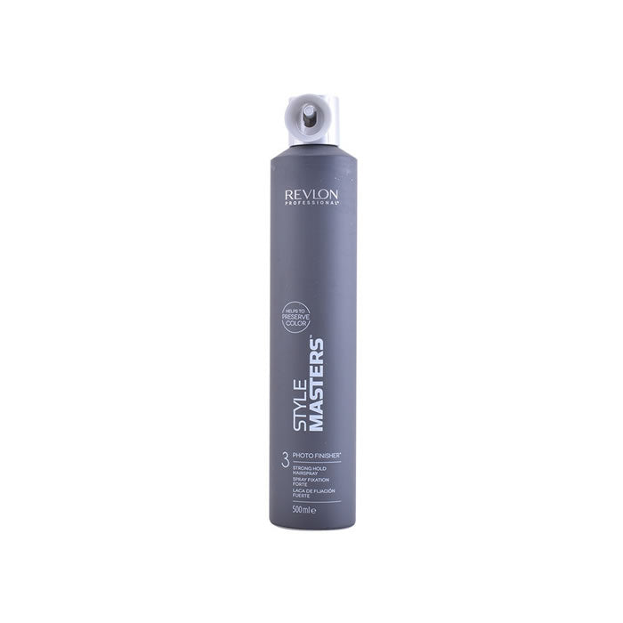Revlon Style Masters Photo Finisher 3 Strong Hold Hairspray 500ml
