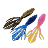 Curly Tail Soft 12cm 13.6g Tails Fishing Lure Plastic Bait Soft Long Worm Isca Artificial Baits Jig Head #EW