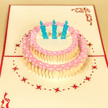 Load image into Gallery viewer, Red Birthday Cake