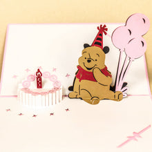 Load image into Gallery viewer, Birthday Cake with Pooh