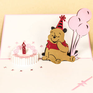 Birthday Cake with Pooh