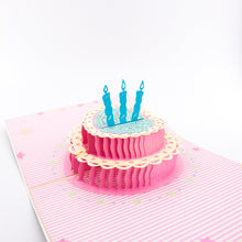 Load image into Gallery viewer, Pink Birthday Cake