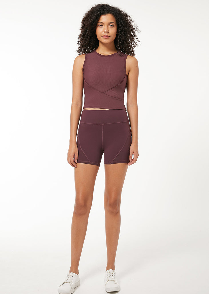 Monica High Waist Short 3.5""