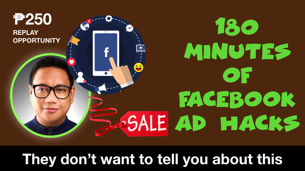 FB ADS HACK LIVE WEBINAR REPLAY OPPORTUNITY!!!