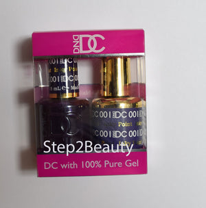 DND DC - Gel Polish & Matching Nail Lacquer Set - #001 INKY POINT
