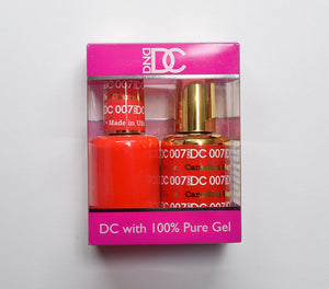 DND DC - Gel Polish & Matching Nail Lacquer Set - #007 CANADIAN MAPLE