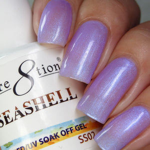 Cre8tion Seashell Soak Off Gel UV/LED 0.5 Fl oz - SS02