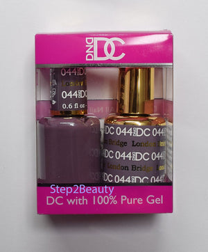DND DC - Gel Polish & Matching Nail Lacquer Set - #044 LONDON BRIDGE