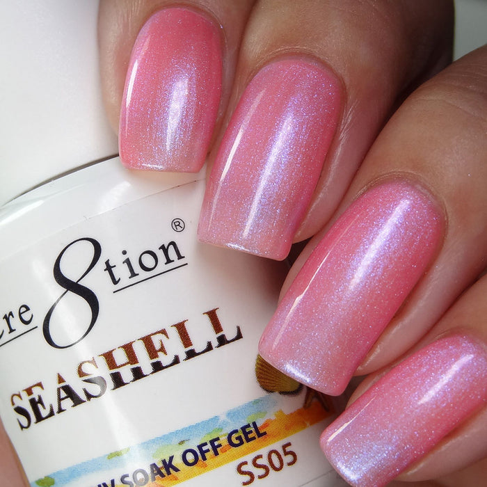 Cre8tion Seashell Soak Off Gel UV/LED 0.5 Fl oz - SS05
