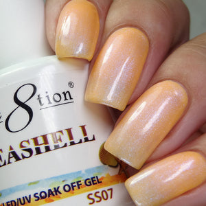 Cre8tion Seashell Soak Off Gel UV/LED 0.5 Fl oz - SS07