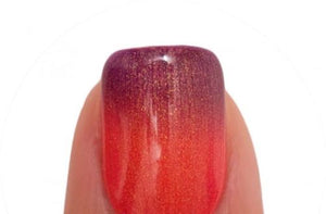 Lechat Dare To Wear Mood Changing Nail Lacquer  - DWML08 Sunset Beach