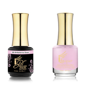 IGel Nail lacquer and gel polish matching - 009 BALLERINA GROWN