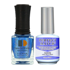 LeChat Perfect Match Spectra Soak off Gel + Nail Lacquer #SPMS10 Gemimi