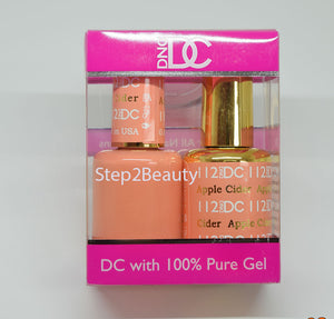 DND DC - Gel Polish & Matching Nail Lacquer Set - #112 APPLE CIDER