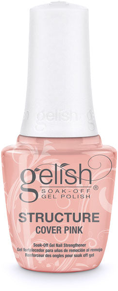 Gelish Soak Off Nail Strengthener Structure Cover Pink - 0.5 fl oz