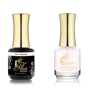 IGel Nail lacquer and gel polish matching - 011 SEASHELL