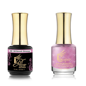 IGel Nail lacquer and gel polish matching - 140 SMOOTH SHIMMER