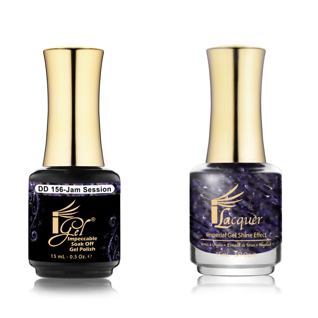 IGel Nail lacquer and gel polish matching - 156 JAM SESSION