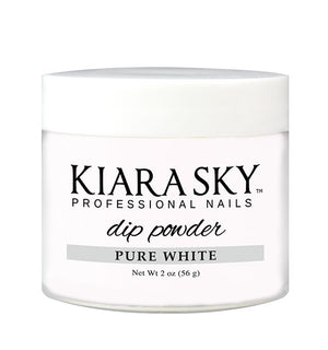 Kiara Sky Dip Powder | PURE WHITE 2 oz