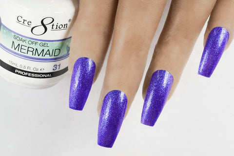 Cre8tion Mermaid Soak Off gel