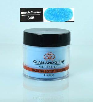 Glam & Glits - Color Pop Acrylic Powder 1 oz - CPA348 BEACH CRUISER