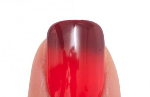 Lechat Dare To Wear Mood Changing Nail Lacquer  - DWML34 - Dark Rose