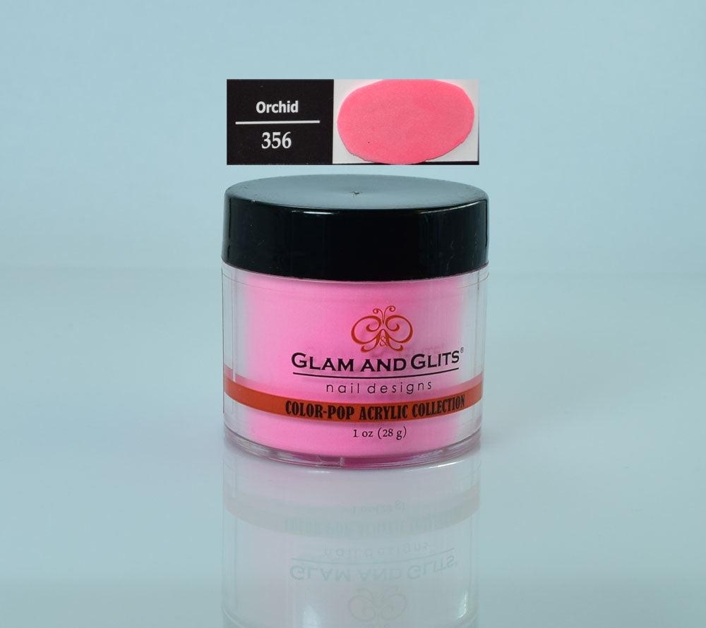 Glam & Glits - Color Pop Acrylic Powder 1 oz - CPA356 ORCHID