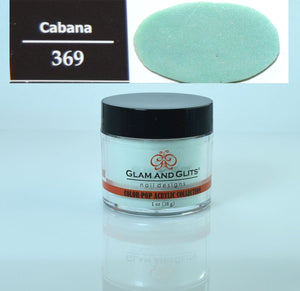 Glam & Glits - Color Pop Acrylic Powder 1 oz - CPA369 CABANA